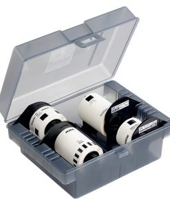 DK-4VPA-Brother DK-4VPA Plastic storage box with 4 starter rolls (CD/DVD labels