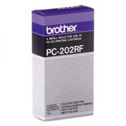 PC-202RF-Brother PC-202RF Refill Rolls x2 for Fax 1020/1030