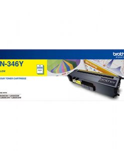 TN-346Y-Brother TN-346Y Colour Laser Toner- High Yield Yellow- HL-L8250CDN/8350CDW MFC-L8600CDW/L8850CDW - 3500Pages