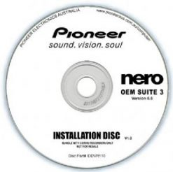 IDDVR110-Pioneer Software Nero Suite 3 OEM Version 6.6 - Play Edit Burn & Share Blu-ray & 3D contents - PowerDVD10 InstantBurn5.0 Power2Go8.0 PowerProducer5.5