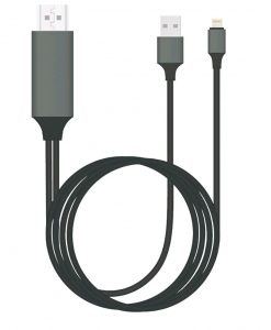 GEN-CABLIGHTNINGTV-2-8Ware Generic Plug & Play Lightning to HDMI 2m Cable for iPhone & iPad