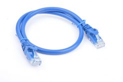 PL6A-0.25BLU-8Ware Cat6a UTP Ethernet Cable 25cm Snagless Blue