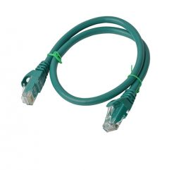 PL6A-0.25GRN-8Ware Cat6a UTP Ethernet Cable 25cm Snagless Green