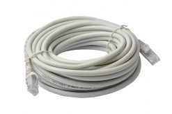 PL6A-10GRY-8Ware Cat6a UTP Ethernet Cable 10m Snagless Grey