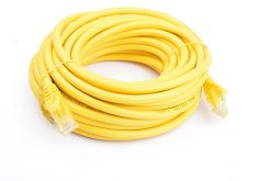 PL6A-10YEL-8Ware Cat6a UTP Ethernet Cable 10m Snagless Yellow