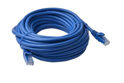 PL6A-20BLU-8Ware Cat6a UTP Ethernet Cable 20m Snagless Blue