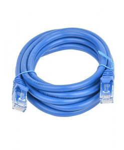 PL6A-2BLU-8Ware Cat6a UTP Ethernet Cable 2m Snagless Blue