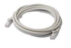 PL6A-3GRY-8Ware Cat6a UTP Ethernet Cable 3m Snagless Grey