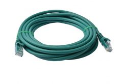 PL6A-5GRN-8Ware Cat6a UTP Ethernet Cable 5m Snagless Green