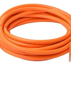 PL6A-5ORG-8Ware Cat6a UTP Ethernet Cable 5m Snagless Orange