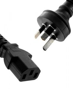 RC-3078AU-8Ware Power Cable 2m Male wall 240v PC