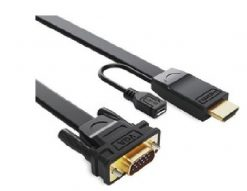RC-HDMIVGA-2-8Ware HDMI to VGA Converter Cable 2m Male to Male