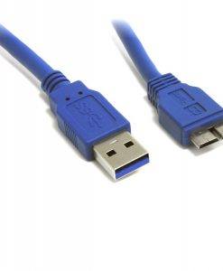UC-3002AUB-8Ware USB 3.0 Cable 2m USB A to Micro-USB B Male to Male Blue