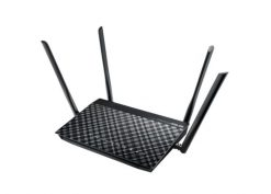 DSL-AC52U-ASUS DSL-AC52U AC750 Dual Band ADSL/VDSL Wireless Modem Router