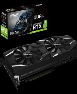 DUAL-RTX2080-8G-ASUS nVidia DUAL-RTX2080-8G GeForce RTX2080 8GB GDDR6 Graphics Card