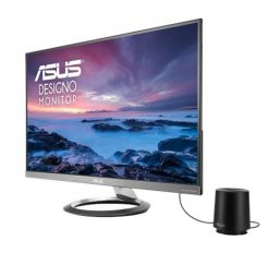 """MZ27AQ-ASUS Designo MZ27AQ 27"""" WQHD (2560 x 1440) IPS DP HDMI Eye Care Monitor with Stereo 6W Speakers and 5W Subwoofer"""