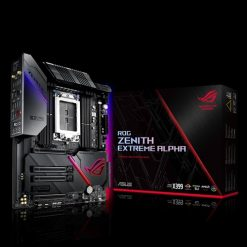 ROG ZENITH EXTREME ALPHA-ASUS ROG Zenith Extreme Alpha X399 HEDT Gaming Motherboard AMD Threadripper 2 (TR4) EATX DDR4 M.2 10G LAN AC WIFI USB 3.1