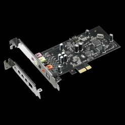 XONAR SE-ASUS Xonar SE 5.1 PCIe Gaming Sound Card 192kHz/24-bit HI-res Audio 116dB SNR