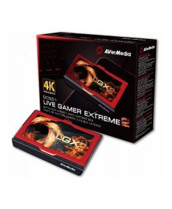 61GC5510A0AP-AVerMedia GC551 Live Gamer Extreme 2. 4K Pass-Through * Only for USB 3.0 / 3.1 (Gen 1) Chipset Capture device. Record 1080p @ 60 fp.12 Months warranty
