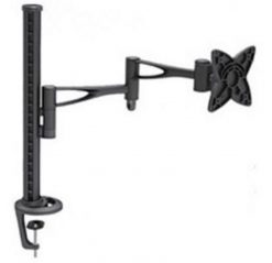 "AT-LCDMOUNT-1-Astrotek Monitor Stand Desk Mount 44cm Arm for Single Screen 13""-34"" 15kg 30° tilt 180° swivel 360° rotate VESA 75x75 100x100 ~MAAT-LCDMOUNT-1S"