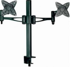 "AT-LCDMOUNT-2H-Astrotek Monitor Stand Desk Mount 36cm Arm for Dual Screens 13""-27"" 15kg 30° tilt 180° swivel 360° rotate VESA 75x75 100x100 ~MAAT-LCDMOUNT-2S"
