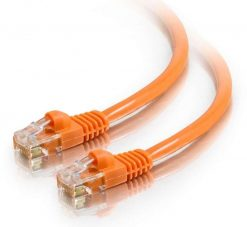 AT-RJ45OR6-1M-Astrotek CAT6 Cable 1m - Orange Color Premium RJ45 Ethernet Network LAN UTP Patch Cord 26AWG-CCA PVC Jacket
