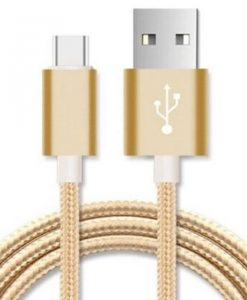 AT-USBMICROBG-5M-Astrotek 5m Micro USB Data Sync Charger Cable Cord Gold Color for Samsung HTC Motorola Nokia Kndle Android Phone Tablet & Devices