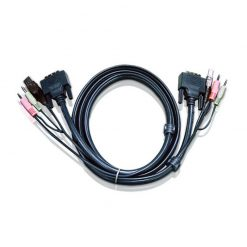 2L-7D05U-Aten 5m DVI KVM Cable with Audio to suit CS178x