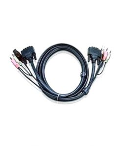 2L-7D05UD-Aten 5m Dual Link DVI KVM Cable with Audio to suit CS178xA