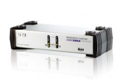 CS1742C-AT-Aten 2 Port USB Dual-View KVMP Switch w/ USB  Hub & Audio - Cables Included