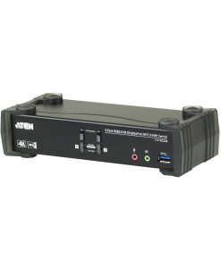 CS1922M-AT-U-Aten 2 Port USB 3.0 4K DisplayPort KVMP Switch w/Built-in MST Hub
