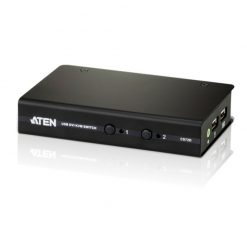 CS72D-AT-Aten 2-Port USB DVI KVM Switch - Cables Included