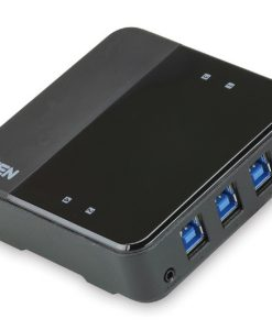 US434-AT-Aten 4-port USB 3.0 Peripheral Sharing Device