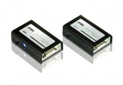 VE602-AT-U-Aten VanCryst DVI Dual-Link Over Cat5 Video Extender with Audio