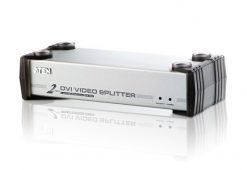 VS162-AT-U-Aten VanCryst 2 Port DVI Video Splitter with Audio - 1920x1200@60Hz or 5m Max