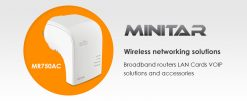 MR750AC-Billion Minitar Wireless AC Repeater AP Router - Supports 2.4G/5G/300Mbps/733Mbps Wireless AC Range Extender/Repeater/Access Point (LS)