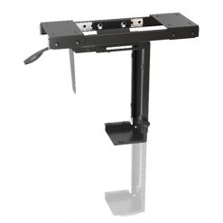 BT-CPB-5-Brateck ADJUSTABLE UNDER-DESK CPU MOUNT WITH SLIDING TRACK