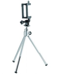 BT-WT0252-G-Brateck Mini Tripod for Digital Camera and Phones with GoPro Adapter and Smartphone Holder