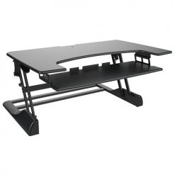 DWS04-03-Brateck Height-adjustable Sit and Stand Desk Z Lift Holds up to 15kg Stepless height settings 1050mm width
