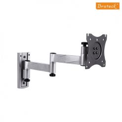 LDA18-112-Brateck Aluminium Articulating Extension Wall Mount with Lock Function Caravan and etc - 13''-27''