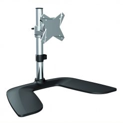LDT02-T01-Brateck Single Monitor Stand Free Standing  from 13''-27""