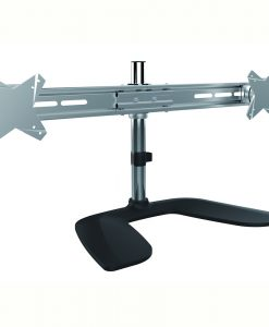"""LDT02-T02-Brateck  Dual Monitor Horizontal Desk Stand from 13''-27"""""""