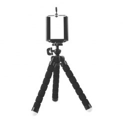 R103-BK-Brateck Universal Flexible Mini Tripod Stand Mount Holder For GoPro Hero Phone Camera