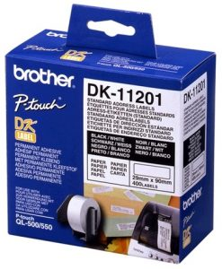 DK-11201-White Standard Address Label