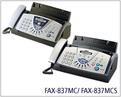 FAX-837MCS-Brother Fax 837MCS with Plain Paper Fax