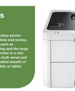 HL-L3230CDW-Brother HL-L3230CDW *NEW* Wireless Colour LASER Printer with 2-SIDED PRINTING. 250 sheets capacity