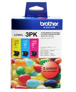 LC-40CL3PK-Brother LC-40 Colour Value Pack