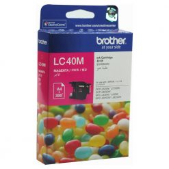 LC-40M-Brother LC-40M Megenta Ink Cartridge- to suit DCP-J525W/J725DW/J925DW
