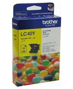 LC-40Y-Brother LC-40Y Yellow Ink Cartridge- to suit DCP-J525W/J725DW/J925DW