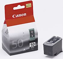 PG50-Canon PG50 Black Ink Cart. High Yield Cartridge